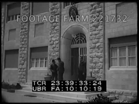 1938 Palestine Jerusalem  221732 05 | Footage Farm