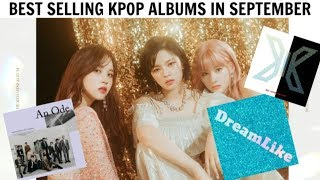 BEST SELLING KPOP ALBUMS IN SEPTEMBER 2019 | GAON CHART