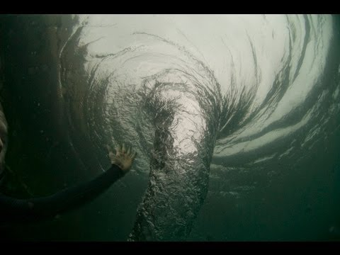 Swimming with a Whirlpool! (Ocean Whirlpool)