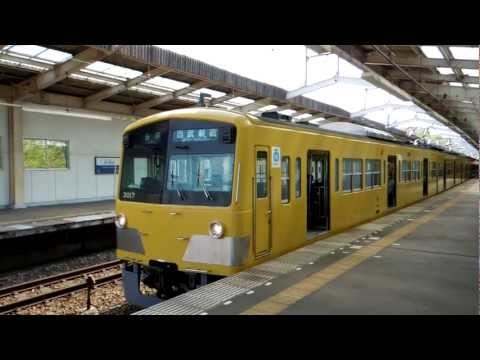 西武拝島線3000系 東大和市駅発車 Seibu Haijima Line