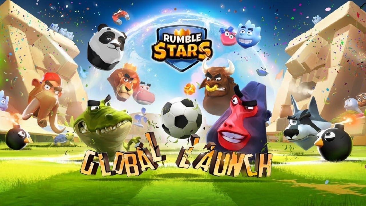 Chơi Rumble Stars đá banh thú rừng – culy chơi game vui nhộn