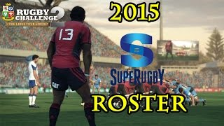 Rugby Challenge 2 - 2015 Super Rugby Roster Download