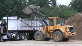 Volvo L90E Loading A Dump Truck