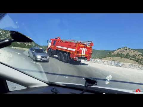 Александр Sandro Кирьяков: Пожарка на дороге в Новый Свет. Жаркое лето 2020