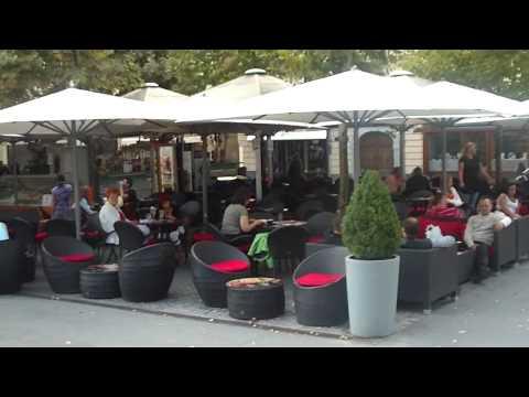 LJUBLJANA (Slovenia), city center