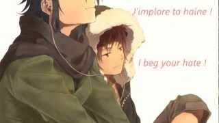 [K] Fushimi Saruhiko Character Song - I Beg Your Hate [SUB French]