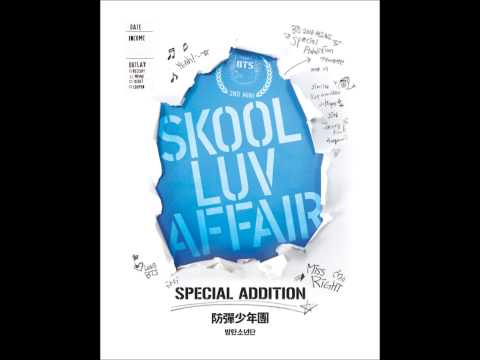 [MP3/DL] BTS - MISS RIGHT (Skool Luv Affair Repackaged Album)