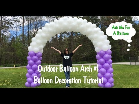 outdoor-balloon-arch-#1---balloon-decoration-tutorial