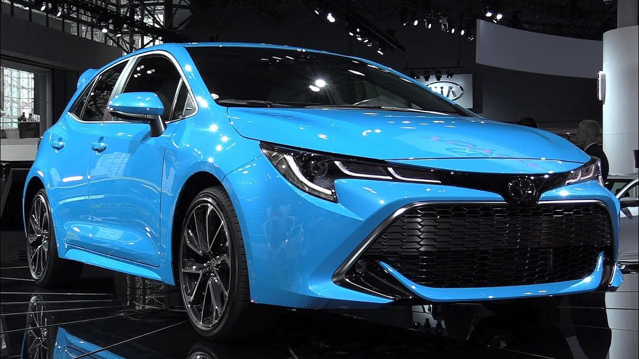 2019 Toyota Corolla Hatchback First Look Clip Fail