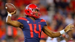 Most Exciting Player in the PAC-12 || Arizona QB Khalil Tate 2017 Midseason Highlights ᴴᴰ