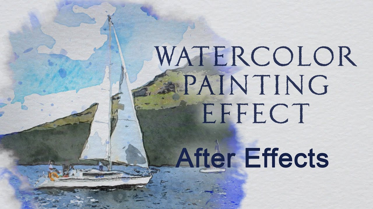 Watercolor Painting Effect
