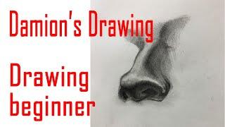 취미미술 / drawing nose / drawing …