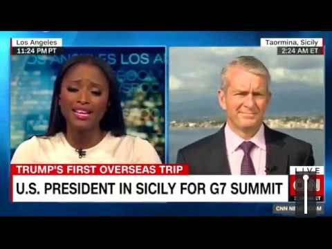CNN Newsroom With John Vause 05/26/17: U.S. PRESIDENT IN SICILY FOR G7 SUMMIT
