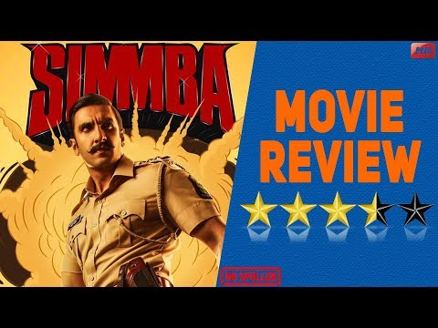 Simmba Movie Review  Ranveer Singh  Sara Ali Khan  Rohit Shetty