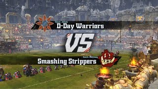 D-Day Warriors VS Smashing Strippers CLs17m18