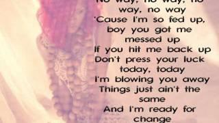 Rihanna - fading lyrics
