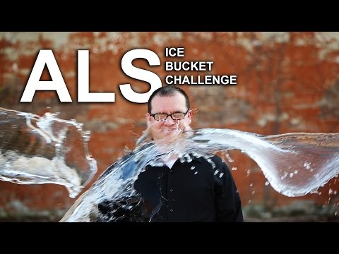 Jay Malone Ice Bucket Challenge - Water freezes in mid air!