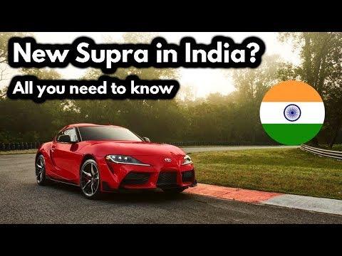 Will 2020 Toyota Supra Come To India Price Sound Engine Legend Is Born Youtube