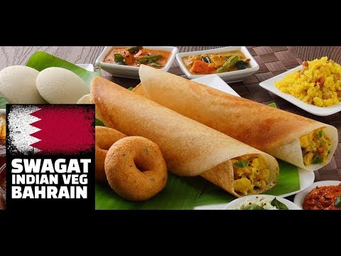 🇧🇭 Best Indian Food in Bahrain - Swagat - Indian Vegetarian cafe - My #1 Indian Resturant