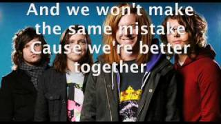 We the Kings What You Do To Me with lyrics HQ