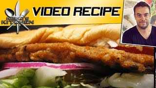Subway Chicken Teriyaki Sub - Video Recipe