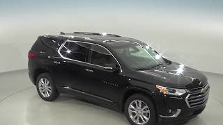 182206 - New, 2018, Chevrolet Traverse, High Country, AWD, Black, Test Drive, Review, For Sale -
