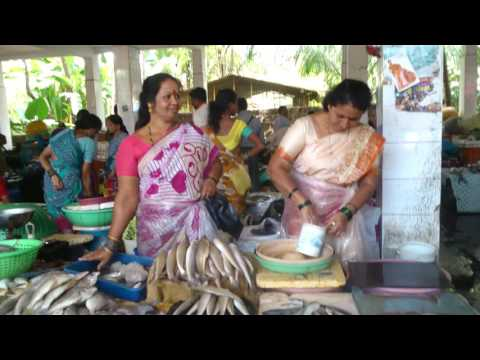 FISH MARKET IN KUNDAPURA (UDUPI DISTRICT) KARNATAKA