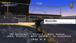 Video Tony Hawk's Pro Skater 3: Secret Levels - Warehouse, Burnside, Roswell download MP3, 3GP, MP4, WEBM, AVI, FLV Juli 2018