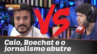 Caio Coppolla, Boechat e o 'Jornalismo Abutre da mídia caça-clique'