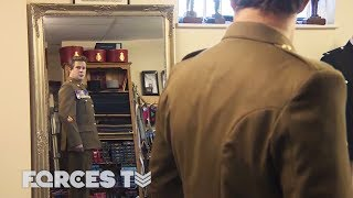 Behind The Uniform: Making The British Military Look Impeccable | Forces TV