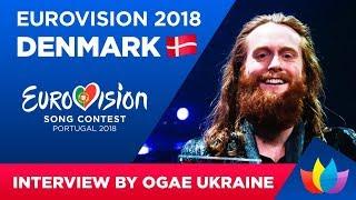 Interview RASMUSSEN Eurovision-2018 Denmark OGAE Ukraine