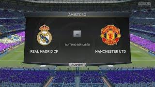 Manchester United 2015 vs Real Madrid 2015   Fifa 15   Duelo de los equipos más caros
