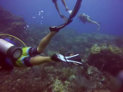 Mike & Andy diving Congo Cay St. John 6/27/17 pt3
