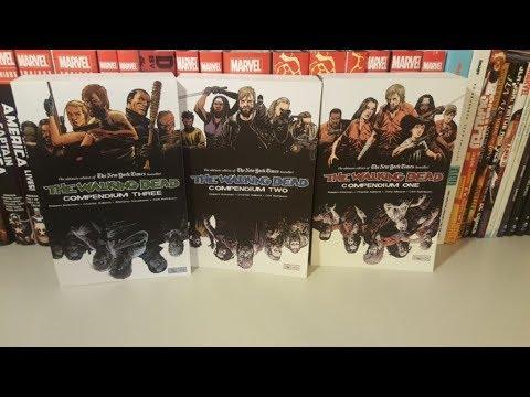 Compendium Comparison- The Walking Dead Vol 1,2 And 3