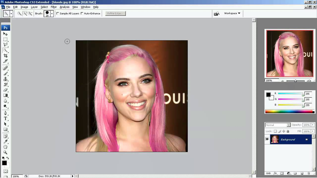 Photoshop cs3 tutorials for beginners colorizing 1 youtube photoshop cs3 tutorials for beginners colorizing 1 baditri Gallery