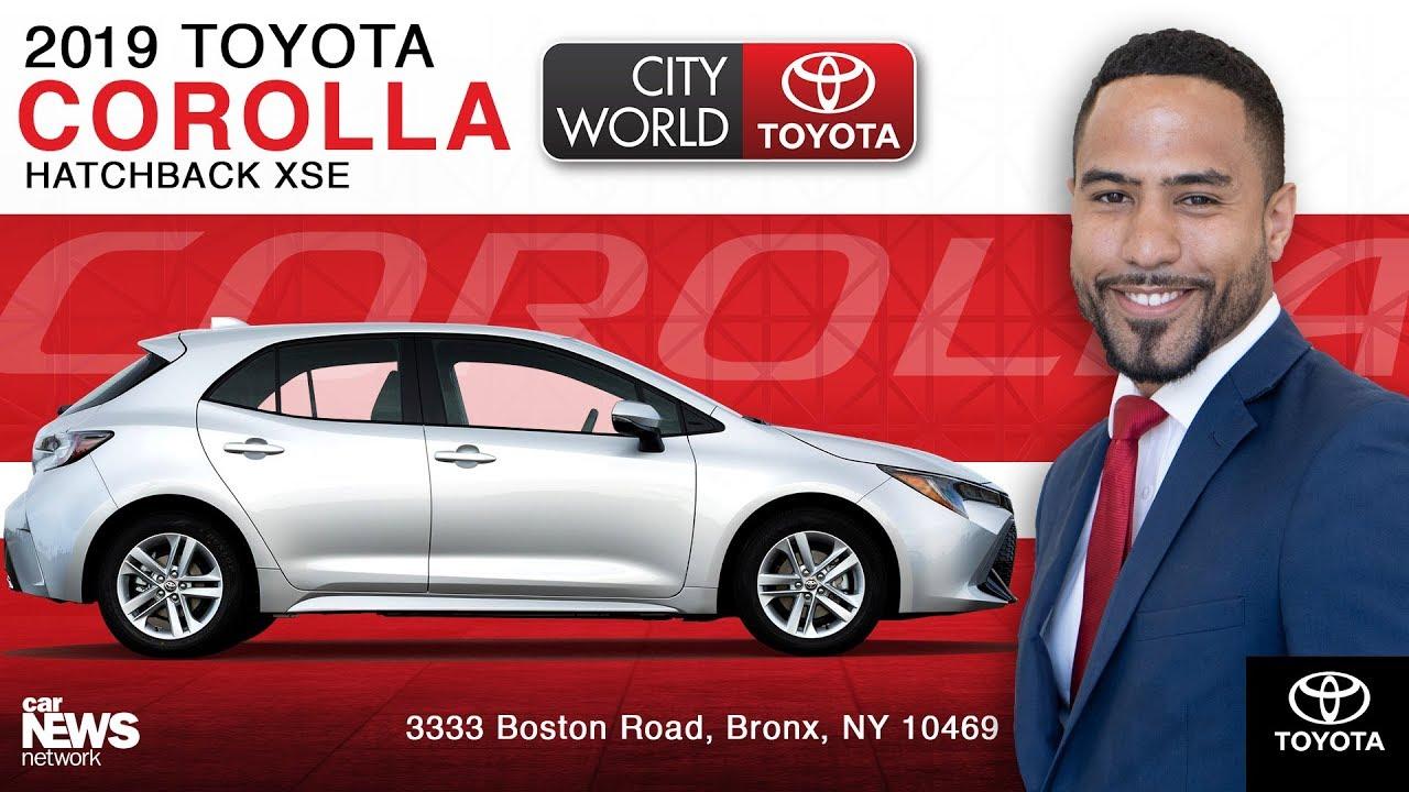 2019 Corolla Hatchback Xse City World Toyota Bronx New York