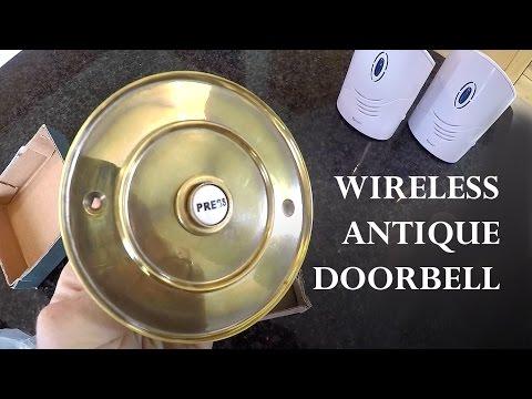 How to Make an Antique Doorbell Wireless