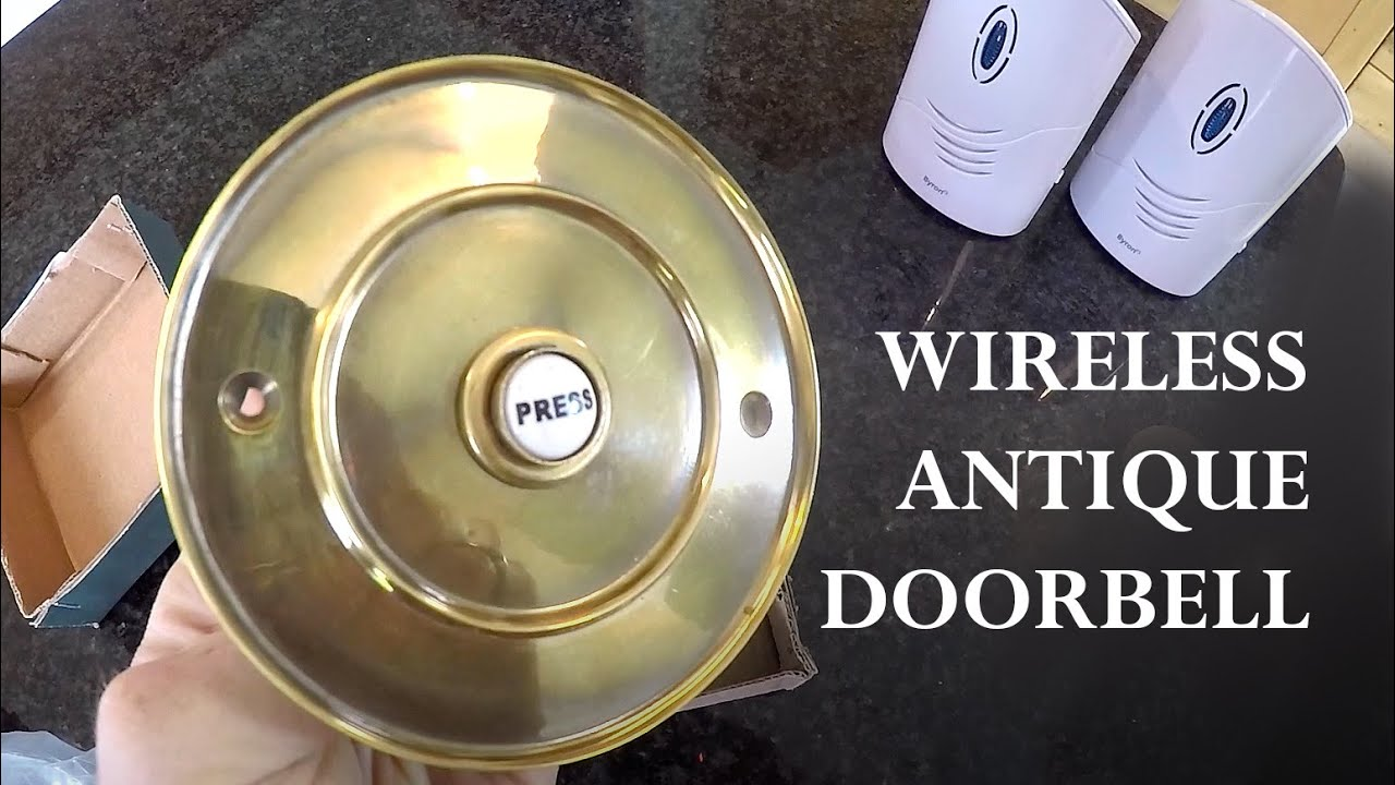 How to Make an Antique Doorbell Wireless - How To Make An Antique Doorbell Wireless - YouTube