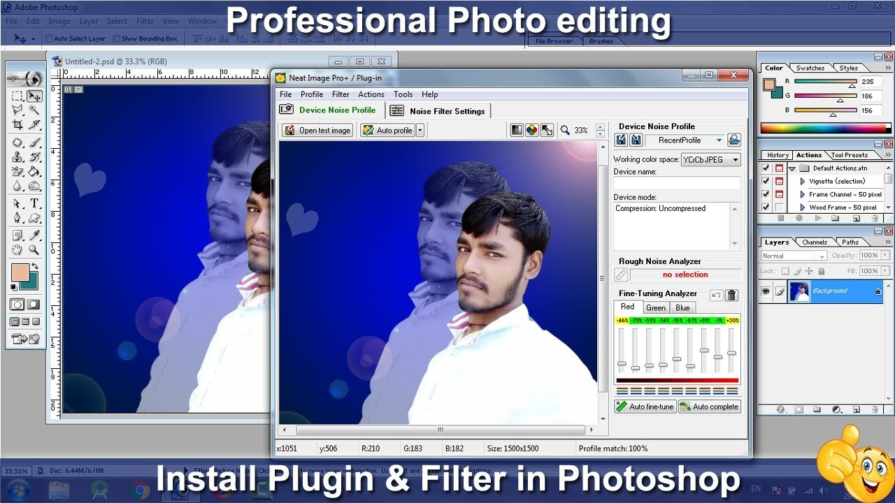photo finishing in photoshop software free download