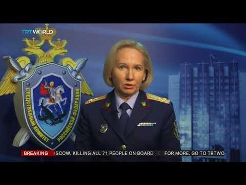 No survivors in Russian plane crash near Moscow