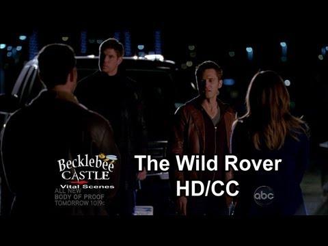 "Castle 5x18 ""The Wild Rover"" Ryan's  Confrontation w/ the Mob & A Funny Team Rescue (HD/CCL-L)"