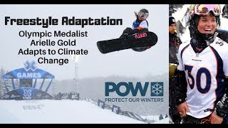 Freestyle Adaptation:  Olympic Medalist Arielle Gold Adapts to Climate Change