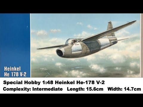 Special Hobby 1:48 Heinkel He-178 V-2 Kit Review
