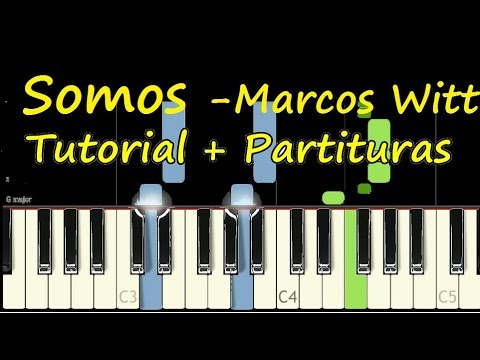 SOMOS Marcos Witt Piano Tutorial Cover Facil + Partitura PDF Sheet Music Easy Midi thumbnail