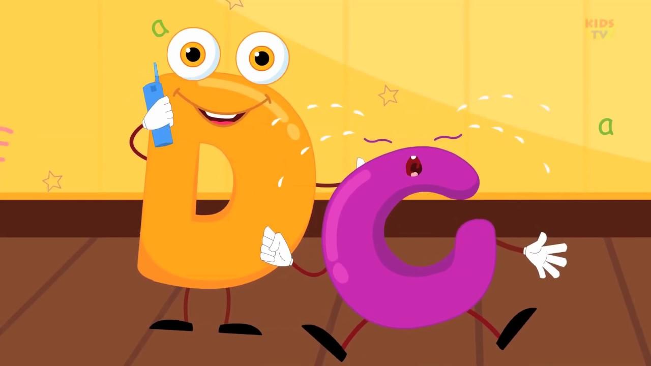 Детские песни на английском языке Five Little Alphabets ...