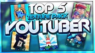 TOP 5 YOUTUBER PVP TEXTURE PACKS - TOP Resource Packs / TOP Texture Packs | BaumBlau