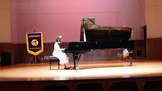 피아노 콩쿨 전국대회 2020.11,  Velosity