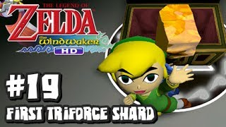 The Legend of Zelda Wind Waker HD Wii U - (1080p) Part 19 - First Triforce Shard
