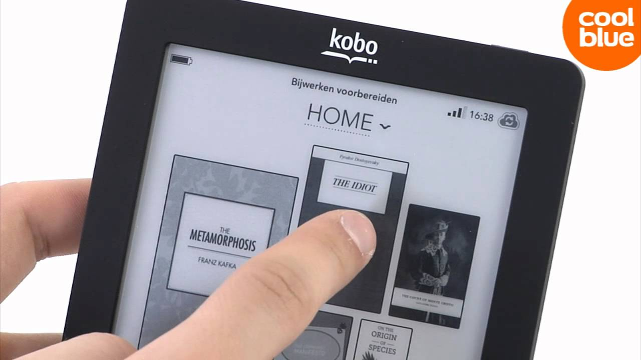 Kobo eReader Touch videoreview en unboxing (NL/BE)