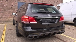BRABUS 850 E63 6.0 V8 Biturbo Estate - Revs & Accelerating!